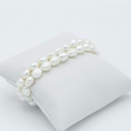 Bracciale doppio con perle...