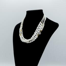 Girocollo in perle naturali...